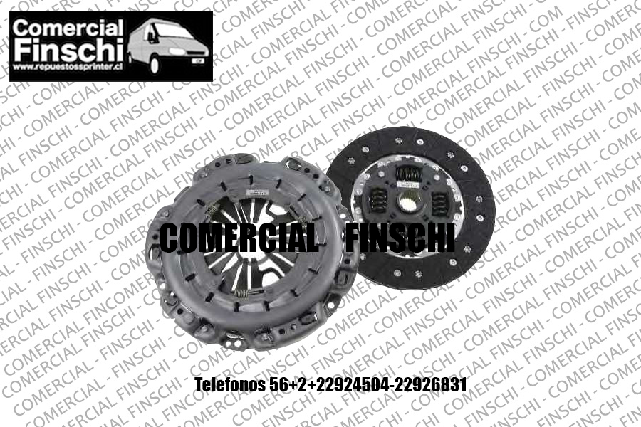 KIT DE EMBRAGUE MERCEDES BENZ SPRINTER